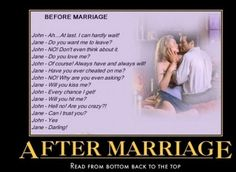 After Marriage...