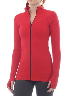 Unity jacket by NUX USA. Yoga outerwear that looks great and made in America!