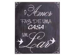 Quadro O Amor Faz | Quadros | Meu Móvel de Madeira