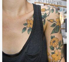 32 Best Jasmine Flower Vine Tattoo Images Flower Vine Tattoos
