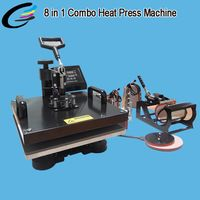 Multifunction combo 4 in1 heat press transfer machine sublimation printing for…
