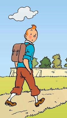Çizgi-film / cartoon Quick Et Flupke, Tin Tin Cartoon, Herge Tintin, Little Brothers, Ligne Claire, Thinking Day, Animation Film, Comic Artist, Comic Character