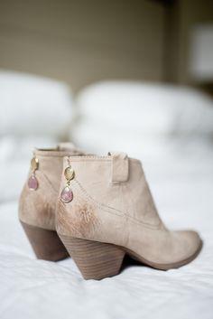 Allen Edmond Bootie Bridal Shoes   Allen Edmond   Clewell Weddings