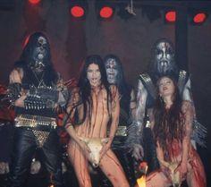 RockForever Ladies Of Metal, Metal Girl, Black Metal, Dimmu Borgir, Women Of Rock, Rocker Girl, Music Artwork, Industrial Metal, Thrash Metal