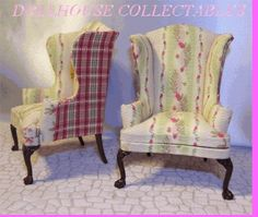 Shabby Chic Dollhouse Miniatures | Visit store.dollhousecollectables.com