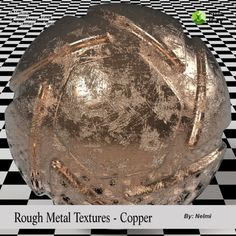 Rough Metal Iray Shaders | 3D Models for Poser and Daz Studio