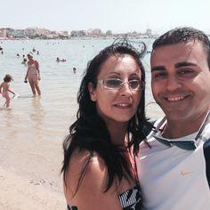 Selfie a pie de playa