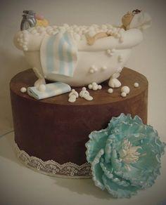 Pamper bath cake - by ShereensCakes @ CakesDecor.com - cake decorating website