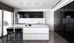 Lev-Gargir Architects / Ramat Gan apartment #kitchen #modern #interior design