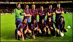 Equipos de fútbol: BARCELONA contra Ipswich Town 21/03/1979