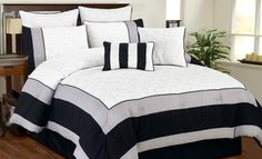 Spain Oversized and Overfilled 8 Piece Comforter Set