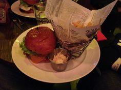 bacon cheeseburger doddy's coffee - les restos de boulogne