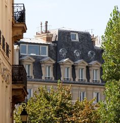 French balconies, balcons, œils-de-bœuf, chimney post...we have all the components to create a fabulously French exterior!