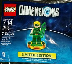 Lego Dimensions Green Arrow figurine. Limited edition   New in Video Games & Consoles, Video Game Merchandise