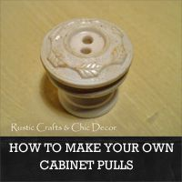 Good How To Make Your Own Cabinet Pulls: Rustic Crafts U0026 Chic Decor
