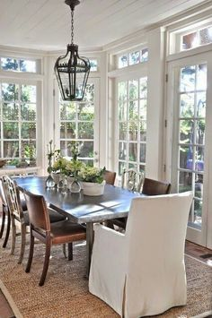 Light dining room