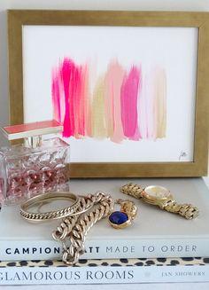 Colors 273 - an original painting by Jen Ramos at Cocoa & Hearts