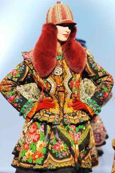 Slava Zaitsev. For more ethnic fashion inspirations and tribal style visit www.wandering-thr.eads.com