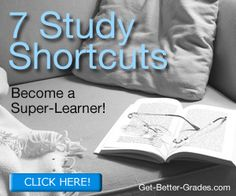 Discover 7 Study Shortcuts and become a Super-Learn!