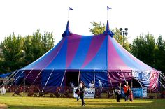 Circus Tent for Midnight Circus | Armbruster Tent Maker