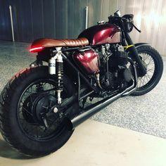 Honda CB750 Brat style Cafe Racer