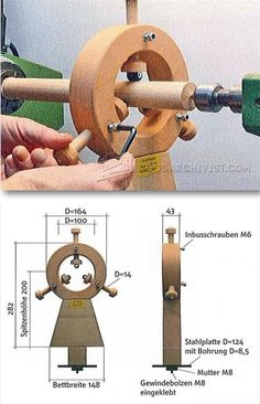 DIY Lathe Steady Rest - Lathe Tips, Jigs and Fixtures | WoodArchivist.com