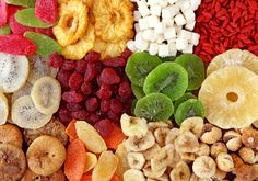 Benefícios das frutas secas para a saúde