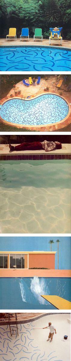 Hockney's pools via Nuji.com