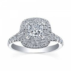 Rocks Jewellers Dublin: Double halo is a huge engagement ring trend for 2015