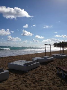 Punta Cana, Dominican Republic Naps on the beach?!  @Sarah Chintomby Mack