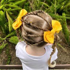 Cute Hairstyles For Kids, Children Hairstyles, Kids Hairstyle, Kid Braid Styles, Hair Styles, Hairstyles Haircuts, Cool Hairstyles, Little Girl Hairdos, Ariel Hair