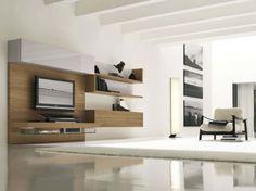 Ravishing Furniture Modern Tv Wall Units Design Ideas On The Light Wood Wall