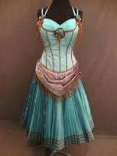 Saloon girl dress