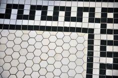 1900s tile, floor tile, bungalow, tile work