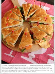 Turks brood gevuld