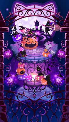 Halloween Wallpaper Iphone, Fall Wallpaper, Kawaii Wallpaper, Halloween Backgrounds, Cute Wallpaper Backgrounds, Aesthetic Iphone Wallpaper, Pretty Wallpapers, Screen Wallpaper, Phone Wallpapers
