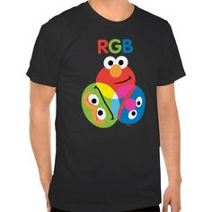 RGB Sesame Street T Shirt, Hoodie Sweatshirt