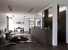 Bauhaus style house renovation by Arjaan De Feyter