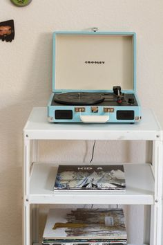I also think it would be cool to get a record player so I can play my moms and dads old records re