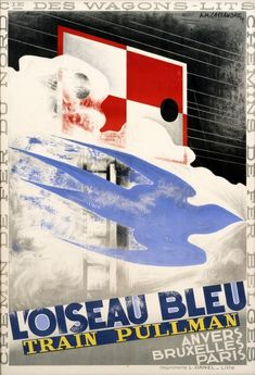 Jigsaw Puzzle-POSTER: TRAIN, French poster advertising & Bleu,& Pullman train Piece Jigsaw Puzzle made to order Art Deco Posters, Poster Prints, Pullman Train, Railway Posters, Train Posters, Blue Train, Fine Art Prints, Canvas Prints, Unique Poster