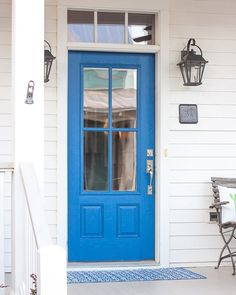 Such a great shade of blue on this charming #cottage at #cartonlanding. Happy 4th of July! #4thofjuly  http://ift.tt/1JhoRaY