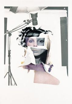 Richard Hamilton - 'Fashion plate'.