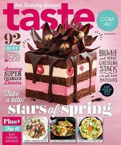 taste.com.au #magazines #September #2015