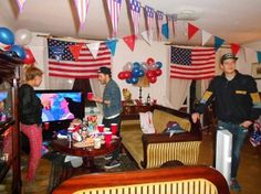 25 Photos of Foreigners Throwing American-Themed Parties