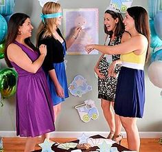 Super Fun Baby Shower Games for Super Fun Moms Fiesta Baby Shower, Fun Baby Shower Games, Baby Shower Parties, Baby Boy Shower, Baby Shower Mixto, Juegos Baby, Baby Hazel, Business For Kids, Mom