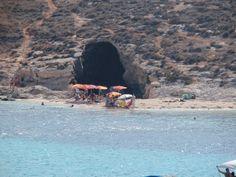 Isla de Comino en Malta.