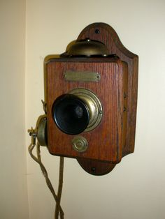 Antique phone at farmhouse in Craftsbury, VT...My grandmother still has one on her wall