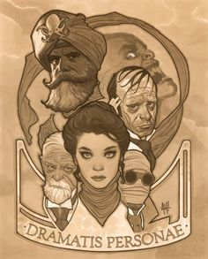 The League of Extraordinary Gentlemen by Adam Hughes