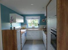 kleine Reihenhausküche- Unser T(raum) ist erfüllt - Fertiggestellte Küchen - Schreinerküche