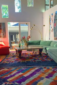 Inside Emily Ratajkowski's Art-Filled LA Home Dream Home Design, Home Interior Design, Modern Interior, Aesthetic Room Decor, Dream Decor, Dream Rooms, My New Room, House Rooms, Room Inspiration